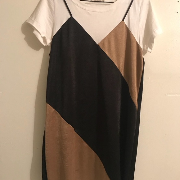 abc289f6 Pull & Bear silk t shirt dress. Pull&Bear. M_5a8107e53800c5bb4cdaa421.  M_5a8107e761ca1060c65747fa. M_5a8107e961ca106453574803